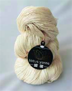 Lotus AUTUMN WIND 100g hespe Naturhvit