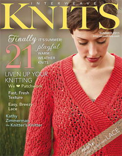 INTERWEAVE KNITS -Sommer 2011
