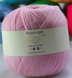 MOON NIGHT - 100g - Farge 09 Lys rosa