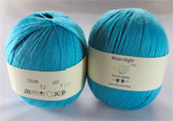 MOON NIGHT - 100g - Farge 22 Turkis