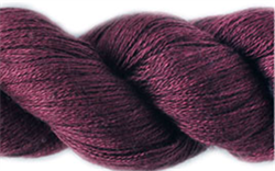 SILKY CASHMERE FINGERING farge S05 Cabernet