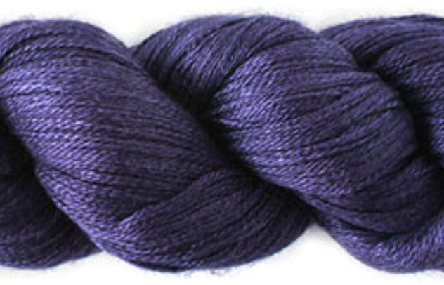 SILKY CASHMERE FINGERING farge S10 Orkide