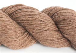 TIBETAN YAK WORSTED - farge 4 Milk Tea