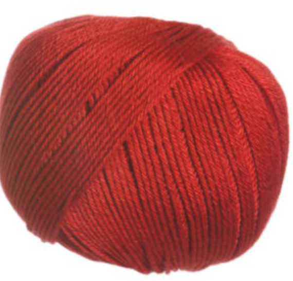 COTTON GLACÉ farge 445 Blood Orange