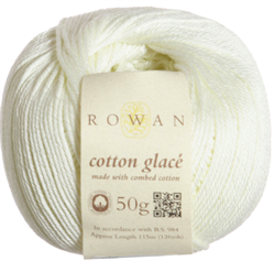 COTTON GLACÉ farge 725 Ecru