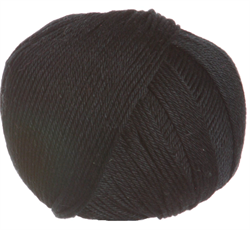 COTTON GLACÉ farge 727 Black