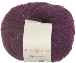FELTED TWEED farge 151 Bilberry