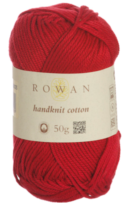 HANDKNIT COTTON farge 215 Rosso