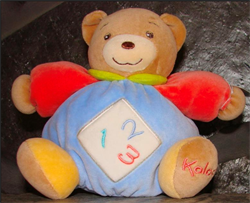 123 SMALL BEAR BLUE