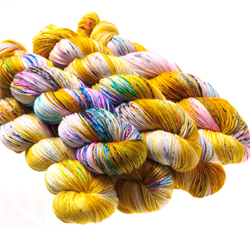 HF SOCK YARN -  farge FOOLS GOLD