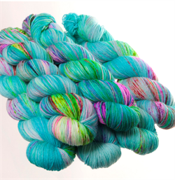 HF SOCK MINIS -  farge BUBBLE