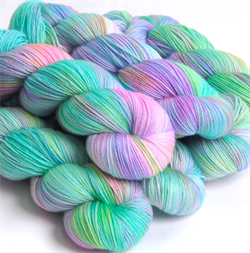 HF SOCK YARN -  farge DOWN BY THE RIVER