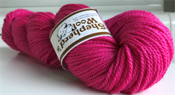 Shepherd's Worsted farge HOT PINK