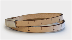 WRIST RULER - Natural Thin Line