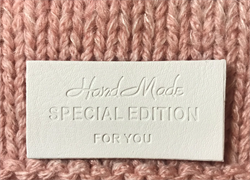 MERKE - Handmade SPECIAL EDITION FOR YOU - Hvit