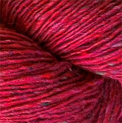 ISAGER TWEED farge RASPBERRY