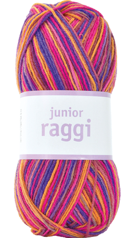 JUNIOR RAGGI - Purple/Cerise Print